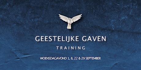 GEESTELIJKE GAVEN TRAINING tickets