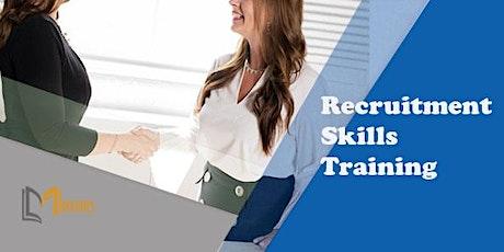 Recruitment Skills 1 Day Training in London tickets