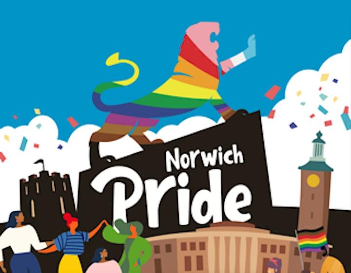 Norwich Pride: Spoken Word Poetry Workshop with James McDermott (Over 18s) image