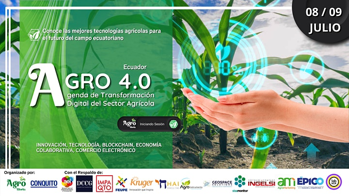 Imagen de AGRO 4.0 Agenda de Transformación Digital del Sector Agrícola