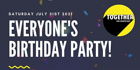 Everyone's Birthday Party - Picnic in Eirias Park (Afternoon Session) tickets