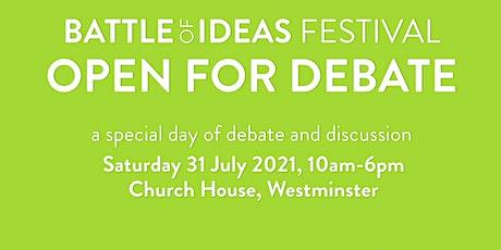 Open For Debate tickets