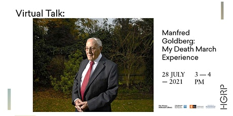 Manfred Goldberg: My Death March Experience: Virtual Talk tickets