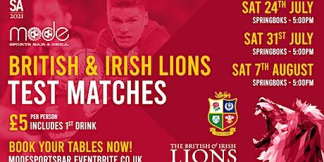 Springboks v British & Irish Lions - 1st Test tickets