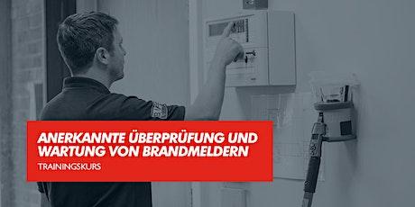 Anerkannte Überprüfung und Wartung von Brandmeldern Tickets