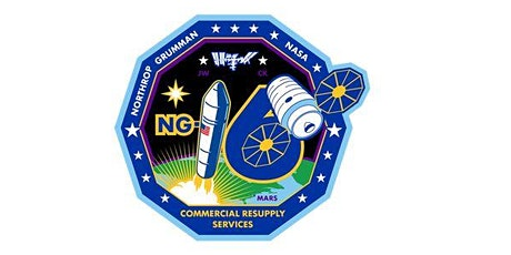 NASA's Northrop Grumman 16th Commercial Resupply Services Mission Launch tickets