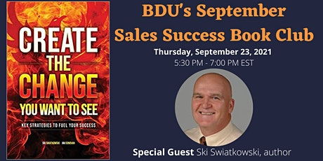 BDU's September Book Club: Create the Change You Want to See tickets