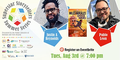 Superstar Storytellers Summer Series: Justin A. Reynolds and Pablo Leon tickets