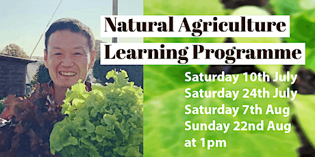 Shumei Natural Agriculture learning course Part 1 (Summer 2021) tickets