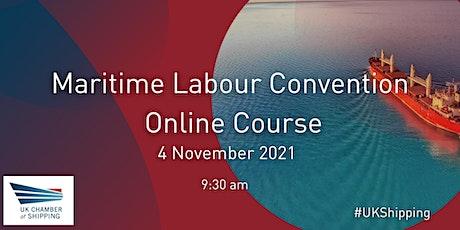 Maritime Labour Convention | Online Course tickets
