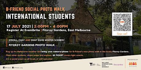 B-Friend Social Photo Walk - International Students tickets