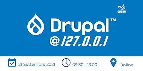 Drupal @127.0.0.1 tickets