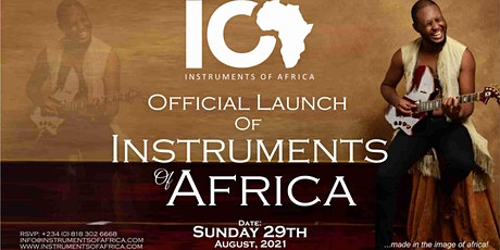 Instruments Of Africa Launching tickets