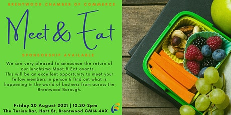 Lunchtime Meet & Eat August 2021 tickets