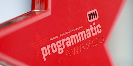 Programmatic Awards Webinar #1 tickets