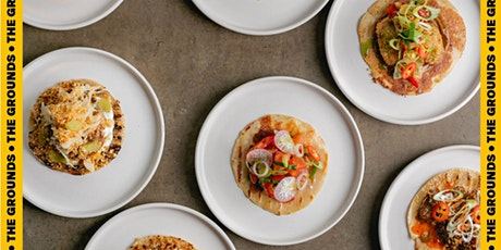 DINES: At The Grounds with Slam Tacos | Part 3: Vegan tickets