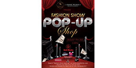 Fashion Show Pop Up Shop Poetry Event tickets