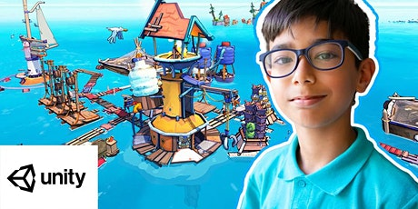 Unity 3D Games Coding Summer Camps For Kids & Teens tickets