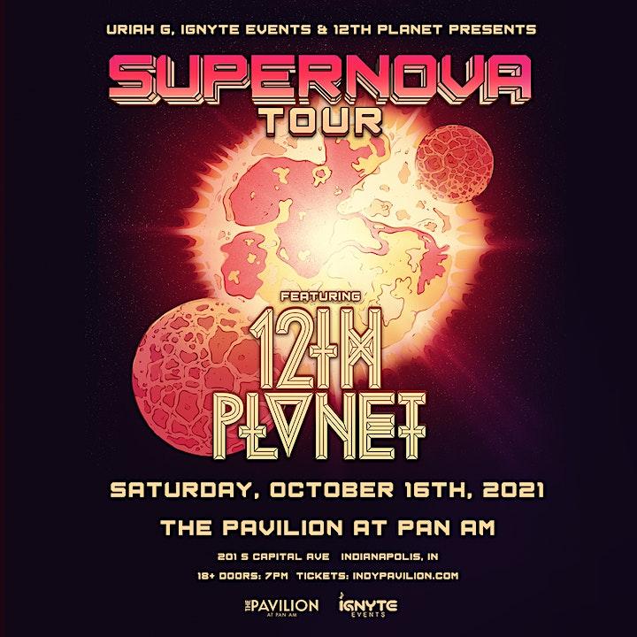 12th Planet -  Supernova Tour image