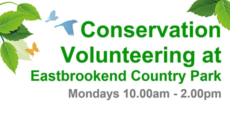 Conservation Volunteering - Eastbrookend Country Park tickets