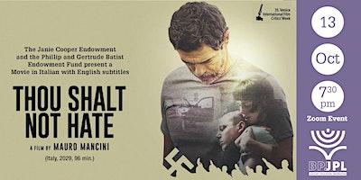 """Thou Shalt Not Hate"" (Italy, 2020)"