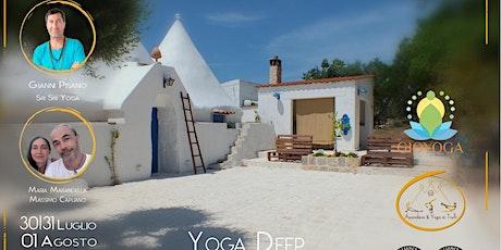 Yoga Deep Dive retreat Puglia biglietti