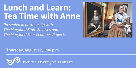 Lunch and Learn: Tea Time with Anne tickets