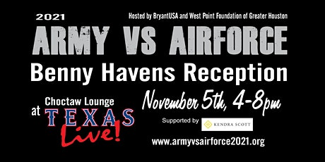 BENNY HAVENS RECEPTION!  At the Choctaw Lounge at Texas Live! tickets