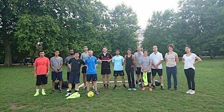 Beginner Friendly Mixed Football in Regents Park tickets