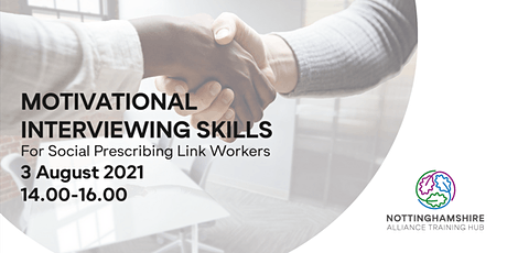 Motivational Interviewing Skills for Social Prescribing Link Workers tickets