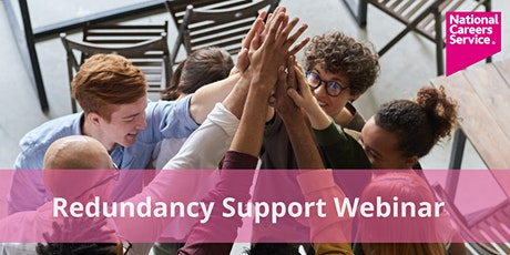Redundancy Support Webinar tickets