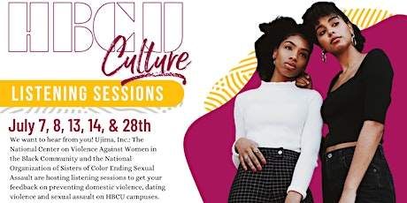 HBCU Culture: Listening Sessions tickets