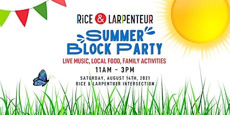 Rice & Larpenteur Summer Block Party tickets