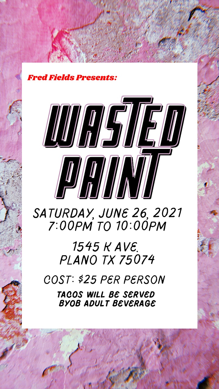 Wasted Paint image