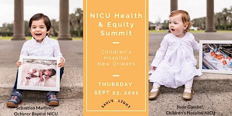 NICU Health & Equity Summit tickets
