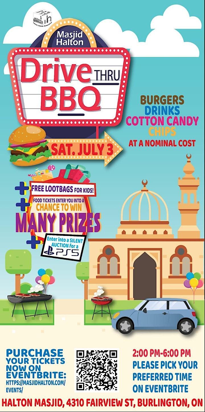 Masjid Halton / Halton Mosque Annual BBQ - drive thru image