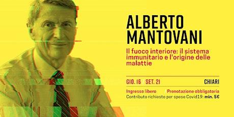 Alberto Mantovani biglietti