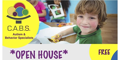 Open House Event: C.A.B.S. Autism & Behavior Specialists tickets