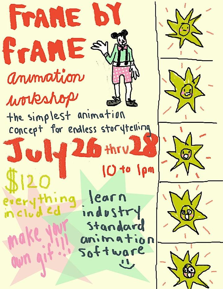 Children's Frame by Frame Animation Workshop image