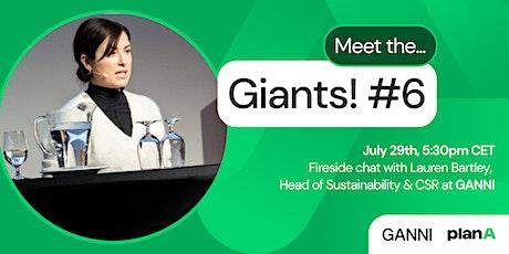 Meet the Giants #6: Ganni - Sustainability, Fashion & CSR tickets