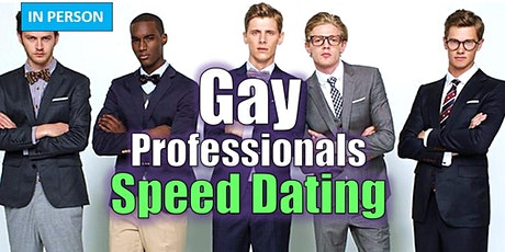 Gay Speed Dating - In Person Event tickets