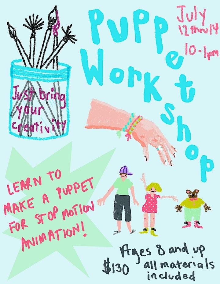 Claymation Puppet Workshop image