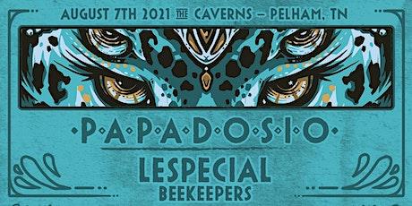 Papadosio underground in The Caverns tickets