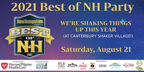 2021 Best of NH tickets
