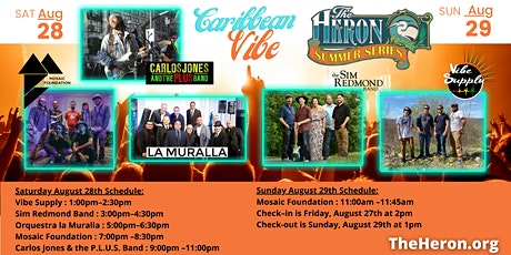 Carlos Jones and The P.L.U.S. Band, Mosaic Foundation and More! tickets