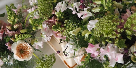 An introduction to floristry: seasonal bouquet workshop tickets
