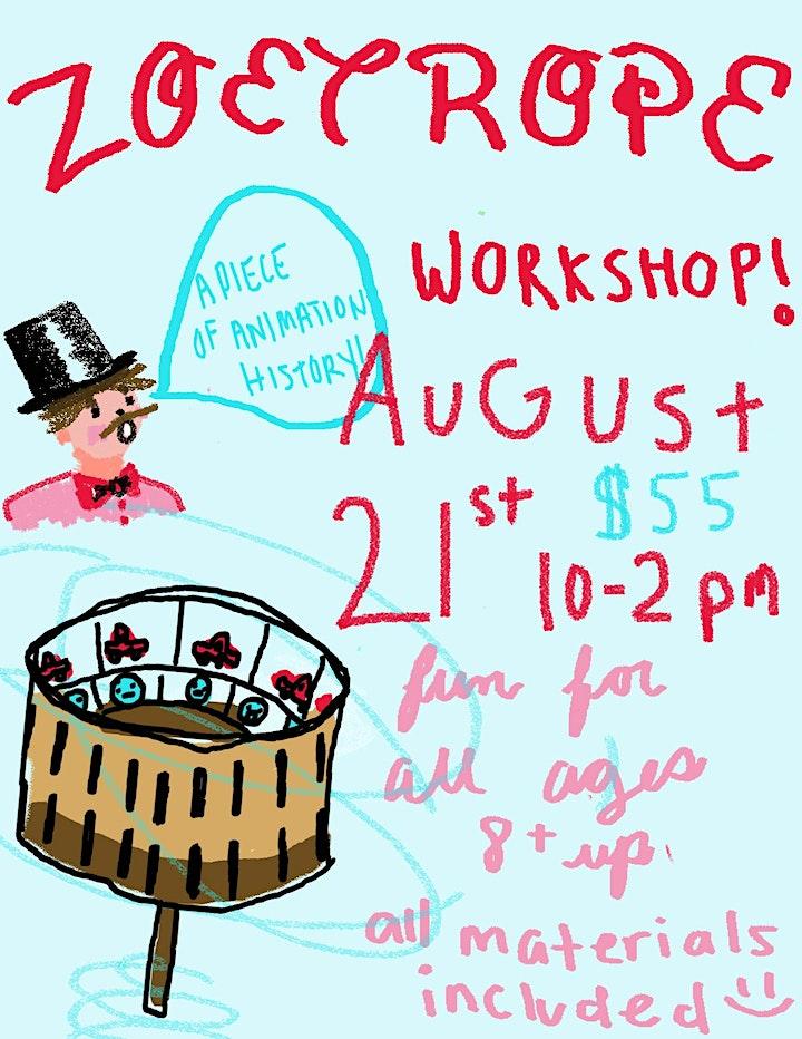 Zeotrope Workshop image