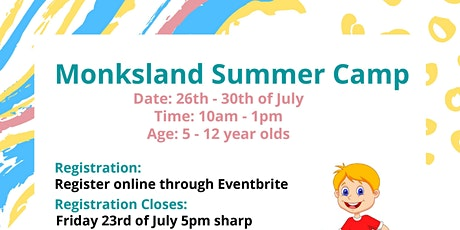 Monksland Summer Camp tickets
