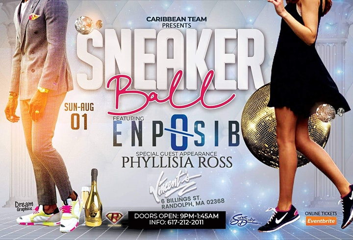 Sneaker Ball  featuring Enposib and Phyllisa Ross image