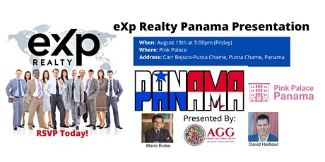 eXp Realty Pink Palace Panama Meet , Greet and eXplained Presentation entradas